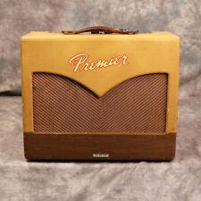 1959 Premier Twin - 8-Andy Baxter de bajos y guitarras