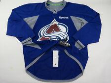Practice Worn Reebok Colorado Avalanche NHL Pro Stock Hockey Jersey 56 Blue #64