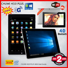 4+64Go 10.8'' CHUWI Hi10 Plus Tablette PC Windows10+Android5.1 QuadCore 3G+WIFI