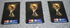 FUSSBALL WM 2006-FIFA WORLD CUP 2006-3 MAGNETE-keine Pins-MasterCard-ca:8,5x5,5