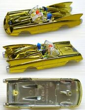 2004 JL BATMOBILE Comic Book GOLD Slot Car Body ONLY