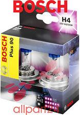 Bosch 1987301074 Set Lámparas para Coche H4 Plus + 90 Caja Doble Faro Nuevo y