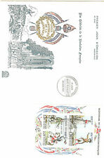 ENVELOPPE 1 er JOUR BLOC N°10 BICENTENAIRE DE LA REVOLUTION PARIS 89