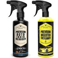 Auto Reiniger als SPARSET | Polsterreiniger & Cockpitspray  + Insektenentferner