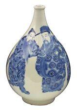 Fine Large Japanese Edo Period Japanese Blue & White Porcelain Vase