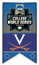 2021 NCAA College World Série Broche Virginia Look Pour The Cws Program En Store