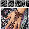 Schablonen mit Tätowierung Aufkleber für Henna Template Indischer Stil Mehdi