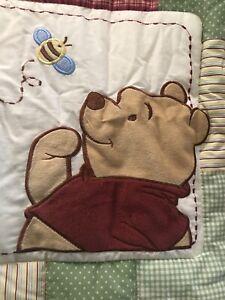 New Disney Winnie Pooh Bear Nursery Baby Bedding Set Crib Comforter Bumper Skirt