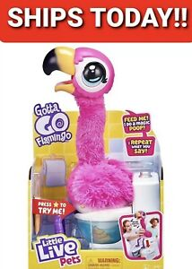 Little Live Pets Gotta Go Flamingo, Singing, Wiggling, & Pooping Toy, New 2020
