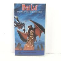 Meat Loaf Bat Out Of Hell II: Picture Show VHS Tape