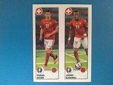Panini Euro 2016 Swiss Star Edition Sticker n. 97 Schar Djourou Switzerland