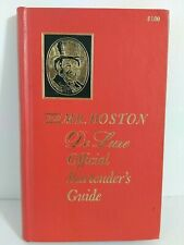 Old De luxe Mr. Boston Official Bartender's Guide Leo Cotton