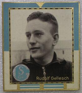 Football KÖNIG Fussball BILD 1938 20 A-LS DFB * FC SCHALKE 04 † RUDOLF GELLESCH