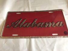Alabama Crimson Tide License Plate New Roll Tide Free Shipping