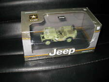 1944 Jeep Willys C7 US Army Green Star on Hood 1 43 Diecast by Greenlight 86307