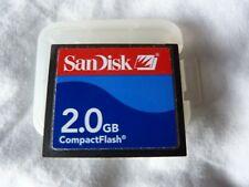 SanDisk CompactFlash - 2GB Flash Card - CF