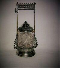 Antique Late 1800's E.G. Webster & Bro. Ornate Victorian Pickle Castor