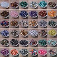 Natural Stone Gemstone Round Loose Spacer Beads 4mm 6mm 8mm 10mm 12mm