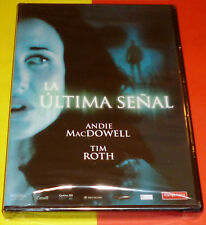 LA ULTIMA SEÑAL / THE LAST SIGN - English Español DVD R2 Precintada