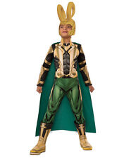 "Loki Kids Dlx Avengers Muscle Chest Costume,Large,Age 8-10 yrs,HEIGHT 4' 8"" - 5'"