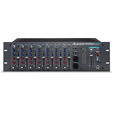 "Alesis Multimix 10 Wireless or Wired Pro 10ch 19"" 3u Rack Mixer Bluetooth"