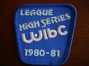 WIBC League High Series Bowling Patch 1980-81 Women's International Bowling Cong