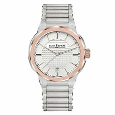 Saint Honoré Men's Analogue Quartz Watch with Stainless Steel Strap 8611466AIR