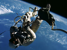 "NASA Gemini Spacecraft Space walk 11 x 14""  Photo Print"