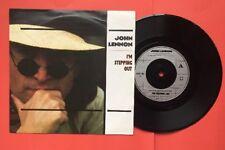 "UK John Lennon I'm Stepping Out NM Vinyl 7"" 45rpm 1984 Picture Sleeve"