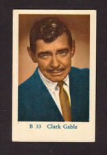 Clark Gable Vintage Card from Sweden #B33