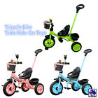Kids Children Tricycle Bike Trike Ride-On Toys Baby Prams w/ Push Handle GMCA869