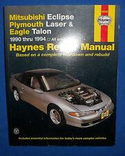 Haynes 68030 Repair Manual Mitsubishi Eclipse Plymouth Laser Eagle Talon 1990-94