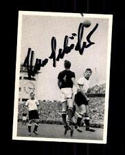 Hans Schäfer DFB Kosmos Sammelbild WM 1954 Original Signiert+ A 150237