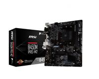 AMD motherboard combo MSI B450M Pro-M2  Ryzen 3 3200G or Ryzen 5 3400G  Kit lot