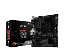 AMD motherboard combo MSI B450M Pro-M2  Ryzen 3 3200G or Ryzen 5 3400G  Kit lot