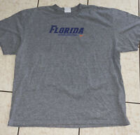 Vintage 90s Nike Team Florida Gators Basketball Shirt Adult Size XXL Gray