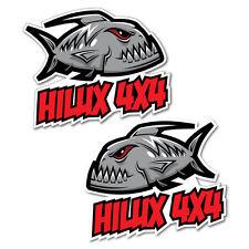 Hilux 4x4 Piranha Car Sticker Decal Boat Fishing Tackle 4x4 #5641ST