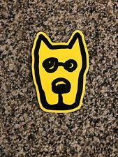 Life Is Good Sticker Logo Decal! Rocket Face Approx 4� Yellow Dog Authentic!