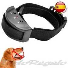 Ociodual 80483 Collar de Adiestramiento Eléctrico con Sonido Antiladridos para Perros - Negro