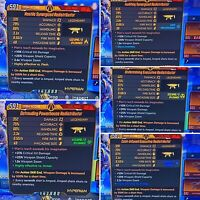 Borderlands 3 REDISTRIBUTOR [FULL] SET Anointed 100% Weapon Damage🔥5 Pack🔥Xbox