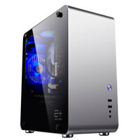 GOLDEN FIELD ATX Mid Tower Computer Gaming PC Case Tempered Glass Side Windows