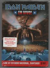 IRON MAIDEN - EN VIVO - LIMITED EDITION 2 DVD STEELBOX - NEUF / STILL SEALED!!!