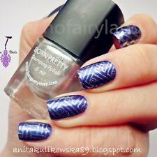 6ml Born Pretty Nail Art Silver Stamping Plate Polish Manicure Stamp Varnish