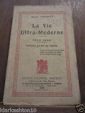 Henri Perriot: la vie ultra-moderne: 1926-1980/ éditions Eugène Figuière 1927