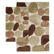 Contemporary Bathroom Mats beige bath mats | ebay