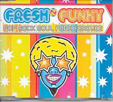 FRESH 'N' FUNKY - Pop rock soul funk forever CDM 7TR House 1996 (Pink Records)