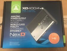 JL AUDIO XD400/4v2 4/3/2 Channel Amplifier 400 Watts Car Speaker Sub Amp NEW XD