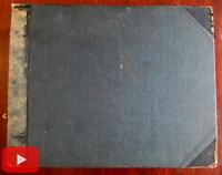View scrapbook album c.1895-1900 Holy Land Jerusalem London Montreal Canada