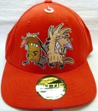 Nickelodeon-Angry Beavers Mens/Teens Hat Cap, Angry Beavers Fittie Hat, New!