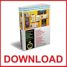 Popular Electronics POPTRONICS Magazines Collection 555 PDFs Issues DOWNLOAD
